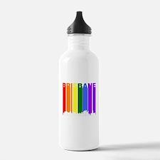 Brisbane Australia Gay Pride Rainbow Skyline Water