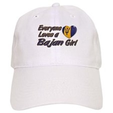 Everyone loves a Bajan girl Baseball Cap