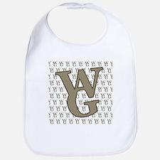 WG Monogram Bib