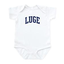Luge (blue curve) Infant Bodysuit