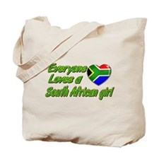 Everyone loves a South African girl Tote Bag