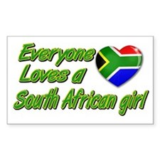 Everyone loves a South African girl Decal