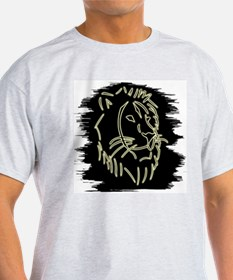 Lion -  Ash Grey T-Shirt