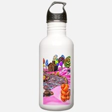 Pink Candyland Water Bottle