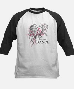 Love to Dance Baseball Jersey