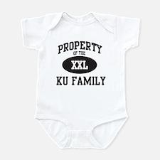 Property of Ku Family Infant Bodysuit