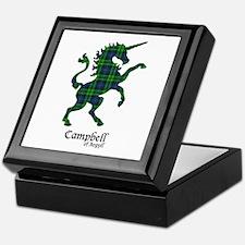 Unicorn-Campbell of Argyll Keepsake Box