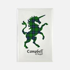 Unicorn-Campbell of Argyll Rectangle Magnet