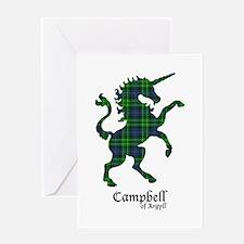 Unicorn-Campbell of Argyll Greeting Card