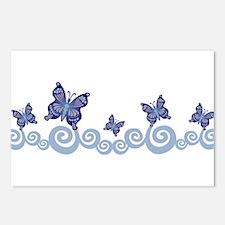 Butterfies in Flight Postcards (Package of 8)