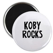 Koby Rocks Magnet
