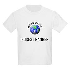 World's Greatest FOREST RANGER T-Shirt