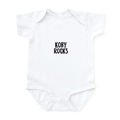 Koby Rocks Infant Bodysuit