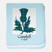 Thistle - Campbell of Argyll baby blanket