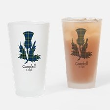 Thistle - Campbell of Argyll Drinking Glass