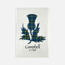Thistle - Campbell of Argyll Rectangle Magnet