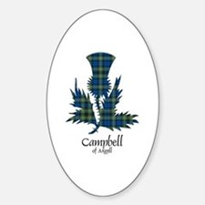Thistle - Campbell of Argyll Decal