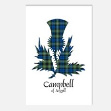 Thistle - Campbell of Argyll Postcards (Package of