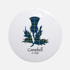 Thistle - Campbell of Argyll Ornament (Round)