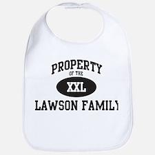 Property of Lawson Family Bib