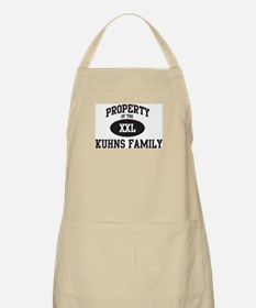 Property of Kuhns Family BBQ Apron