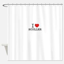 I Love SCULLER Shower Curtain