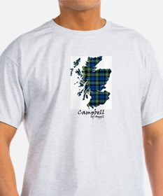 Map - Campbell of Argyll T-Shirt