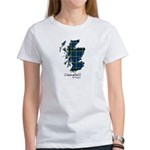 Map - Campbell of Argyll Women's T-Shirt