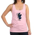 Map - Campbell of Argyll Racerback Tank Top