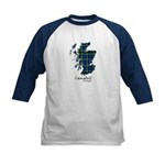 Map - Campbell of Argyll Kids Baseball Jersey