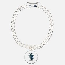 Map - Campbell of Argyll Charm Bracelet, One Charm