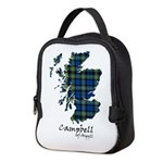 Map - Campbell of Argyll Neoprene Lunch Bag