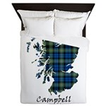 Map - Campbell of Argyll Queen Duvet