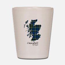 Map - Campbell of Argyll Shot Glass