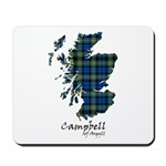 Map - Campbell of Argyll Mousepad