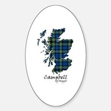 Map - Campbell of Argyll Decal