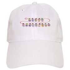 Colorful Merry Christmas - Baseball Cap