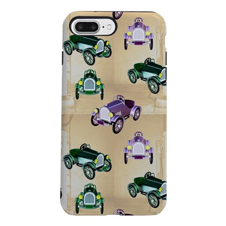 Vintage Cars iPhone 8/7 Plus Tough Case
