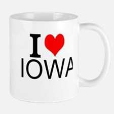 I Love Iowa Mugs
