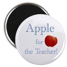 Apple for Teacher Magnet