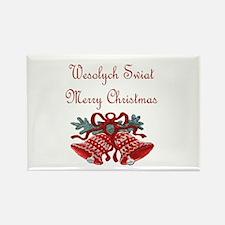 Polish Christmas Rectangle Magnet