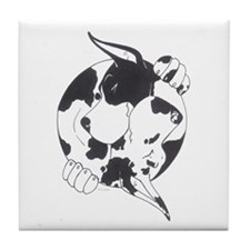 YinYang Great Danes Tile Coaster