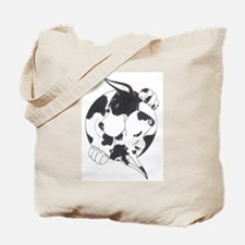 YinYang Great Danes Tote Bag