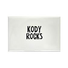 Kody Rocks Rectangle Magnet