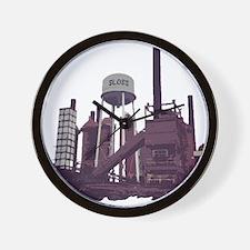 Sloss Furnace Wall Clock