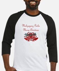 Filipino Christmas Baseball Jersey