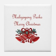 Filipino Christmas Tile Coaster