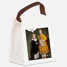 Funny Retro humor Canvas Lunch Bag