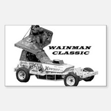 BriSCA Wainman Classic Rectangle Decal