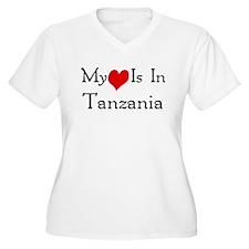 My Heart Is In Tanzania T-Shirt